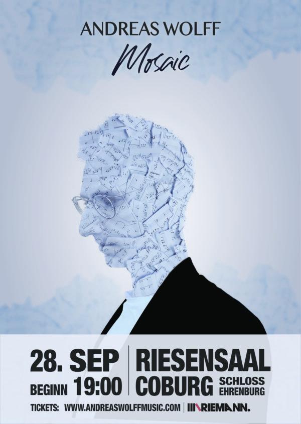 Mosaic Live Plakat